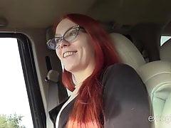 Skinny Redhead Amateur Loves To Cum