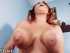 JOI Mom - StepMom Helps You With Your Boner Before Church